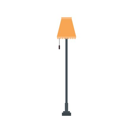 house lamp light isolated icon vector illustration design