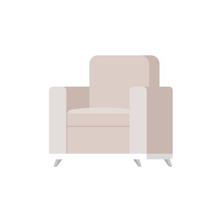 confortable sofa livingroom equipment icon vector illustration design Vettoriali