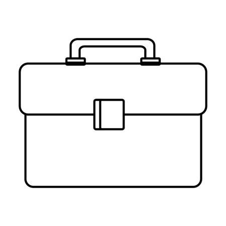 plastic tool box packing icon vector illustration design Foto de archivo - 133133867