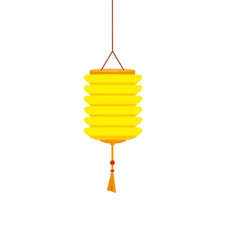 chinese decorative lamp hanging icon vector illustration design Stock fotó - 133149185