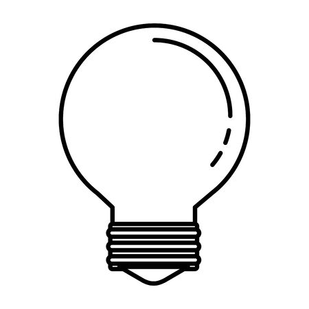 bulb idea think icon vector illustration design