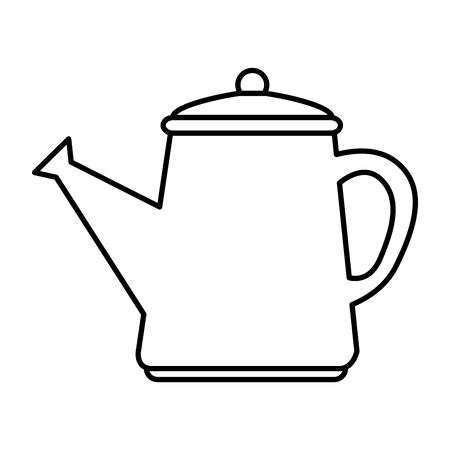 garden sprinkler pot plastic icon vector illustration design Фото со стока - 133097183