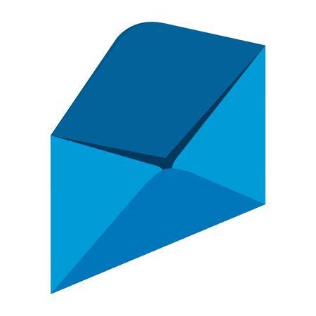 envelope mail isolated icon vector illustration design Иллюстрация