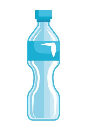 plastic bottle recycle icon vector illustration design 向量圖像