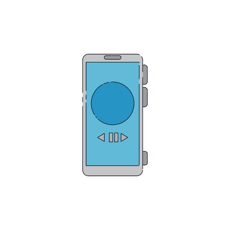 smartphone device gadget isolated icon vector illustration design