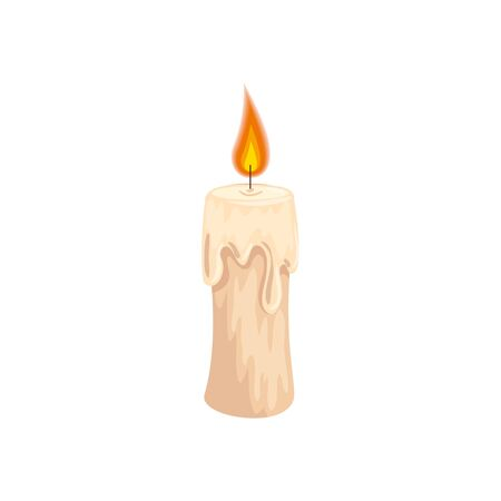 halloween candle decoration isolated icon vector illustration design Фото со стока - 133193141