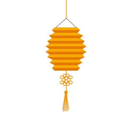 chinese decorative lamp hanging icon vector illustration design 版權商用圖片 - 133250623