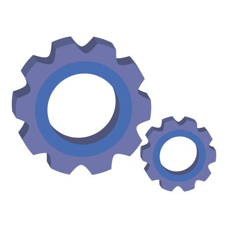 gears pinions machine isolated icon vector illustration design Stock fotó - 133255287