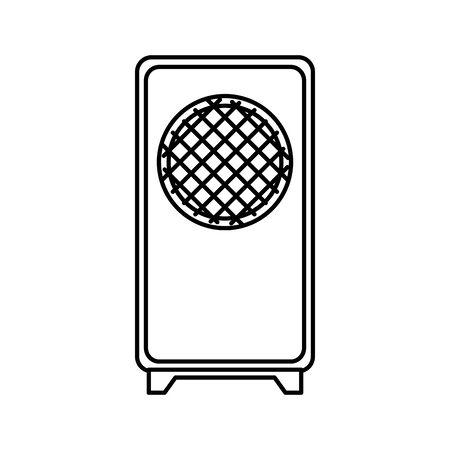 sound speaker device isolated icon vector illustration design