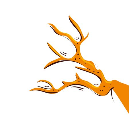 branch of dry tree isolated icon vector illustration design