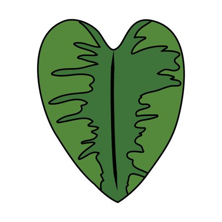 ecology leaf plant nature icon vector illustration design Foto de archivo - 133571754