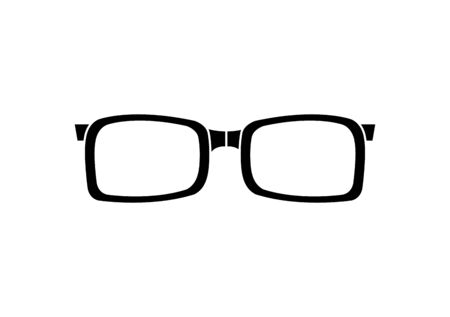 eyeglasses optical accessory isolated icon vector illustration design 일러스트