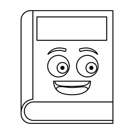 text book school  character vector illustration design 일러스트