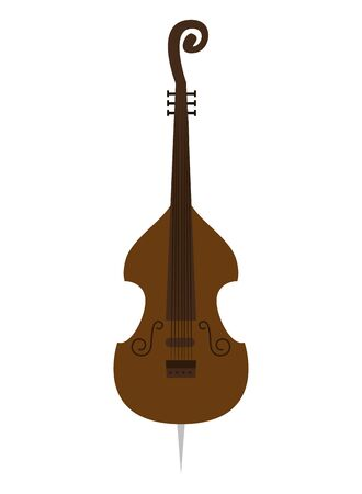 cello musical instrument icon vector illustration design Ilustrace