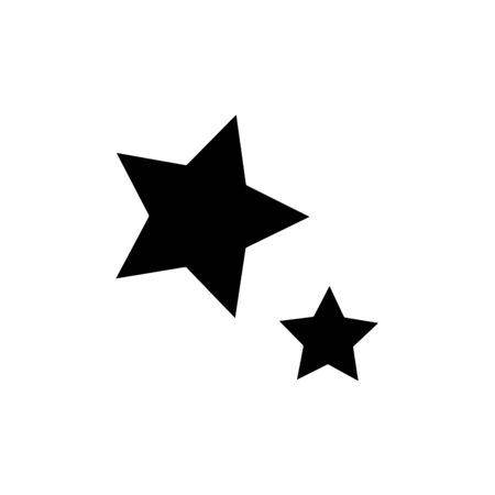 set stars decoration isolated icon vector illustration design