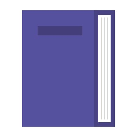 book text education isolated icon vector illustration design