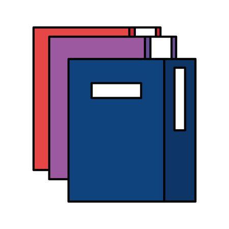 pile text books education icons vector illustration design Ilustracja