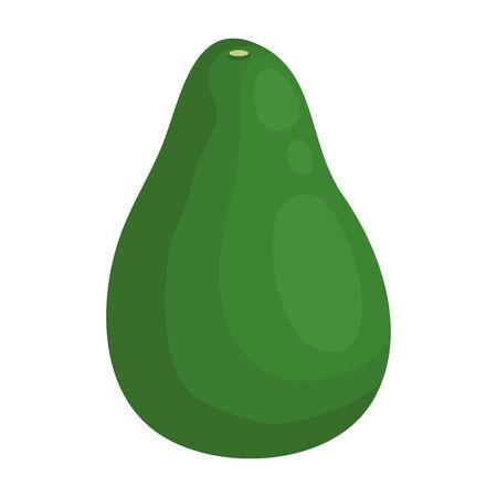 avocado fresh vegetable healthy icon vector illustration design Stock fotó - 133850878