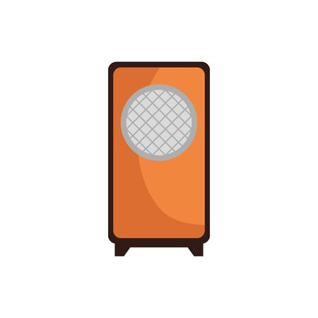 sound speaker device isolated icon vector illustration design