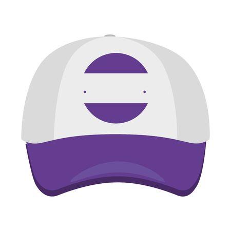cap with company emblem vector illustration design 矢量图像