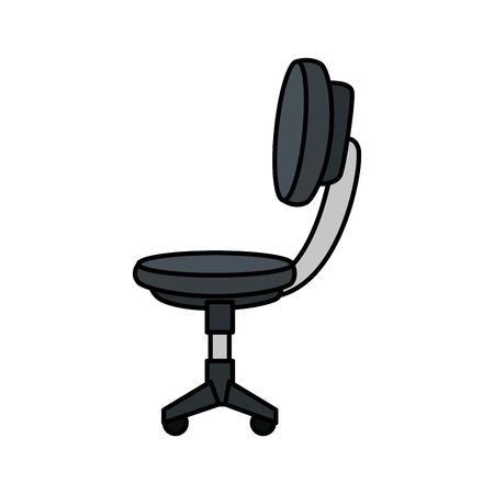 office chair equipment isolated icon vector illustration design Stock Vector - 133851367