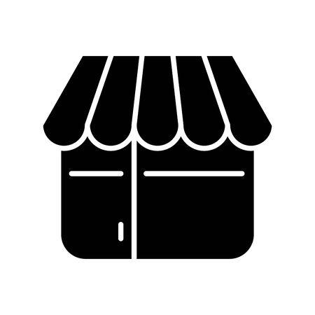 store building facade isolated icon vector illustration design