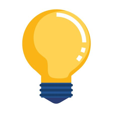 bulb idea think icon vector illustration design