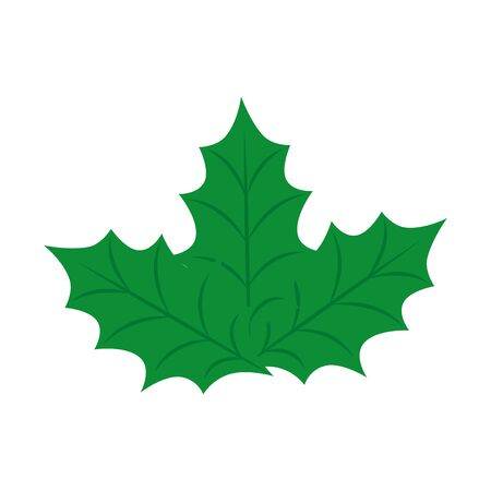 leafs nature ecology isolated icon vector illustration design