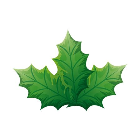 leaf nature ecology isolated icon vector illustration design