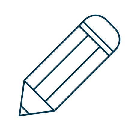 pencil education supply isolated icon vector illustration design 일러스트