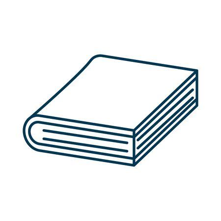 education text book isolated icon vector illustration design Foto de archivo - 134029258