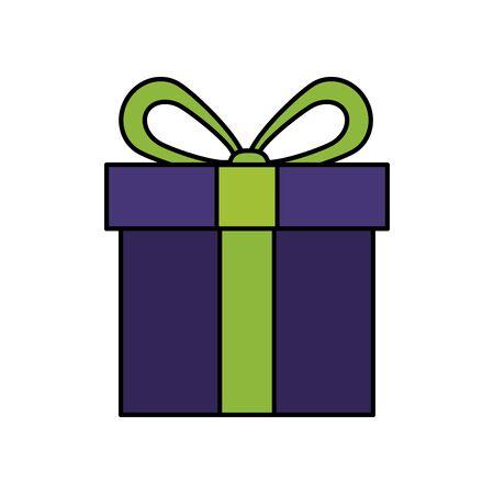 gift box present isolated icon vector illustration design 일러스트
