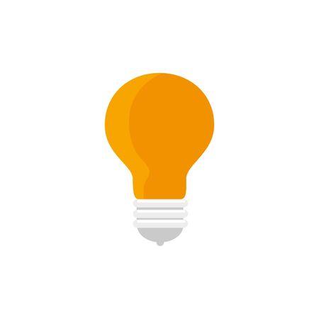 light bulb idea isolated icon vector illustration design Banco de Imagens - 134136548