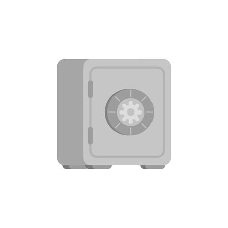 strongbox private safety isolated icon vector illustration design
