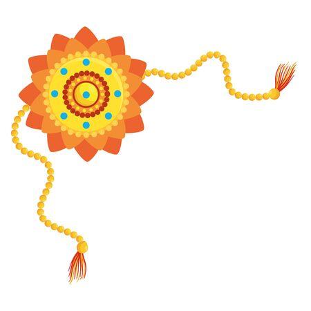 decorative mandala ethnic boho style vector illustration design