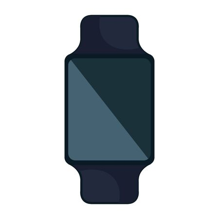 smartwatch wearable technology device vector illustration design