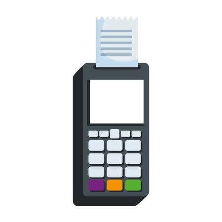 voucher machine electronic commerce icon vector illustration design 版權商用圖片 - 134338959
