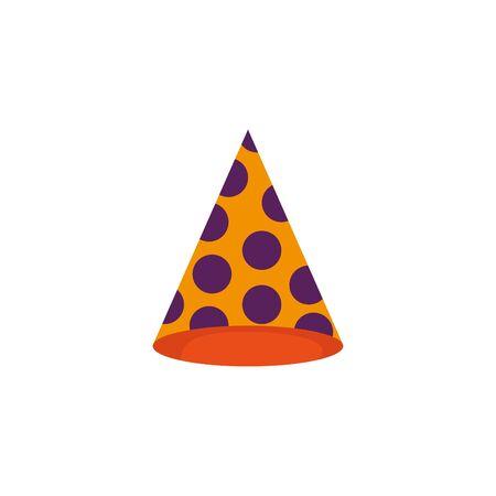 Hutdesign, Party alles Gute zum Geburtstag Festival Feier Urlaub Dekoration Genuss und Unterhaltung Thema Vector Illustration