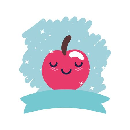 Cherry design, Fruit healthy organic food sweet and nature theme Vector illustration Illustration
