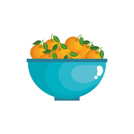 Oranges design, Fruit healthy organic food sweet and nature theme Vector illustration