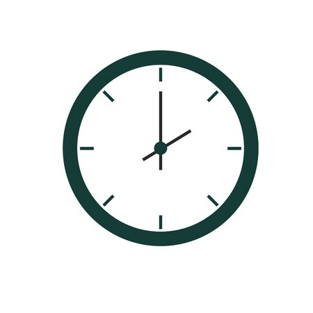 time clock watch isolated icon vector illustration design Stok Fotoğraf - 134637545
