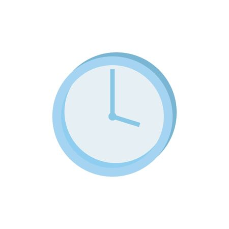 Clock design, Time tool instrument second deadline measure and measure theme Vector illustration