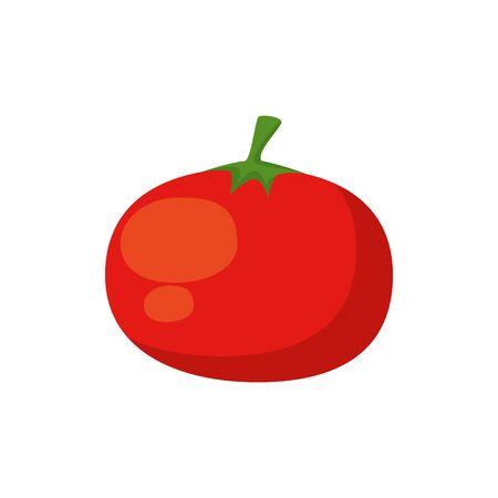 tomato fresh vegetable isolated icon vector illustration design 向量圖像