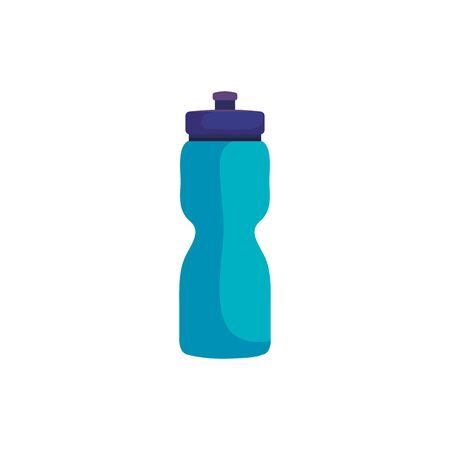 bottle water plastic isolated icon vector illustration design  イラスト・ベクター素材