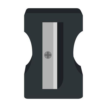 sharpener education supply isolated icon vector illustration design Ilustração