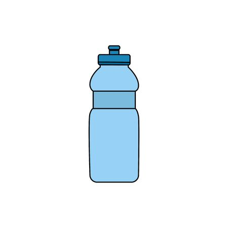 bottle water plastic isolated icon vector illustration design 向量圖像