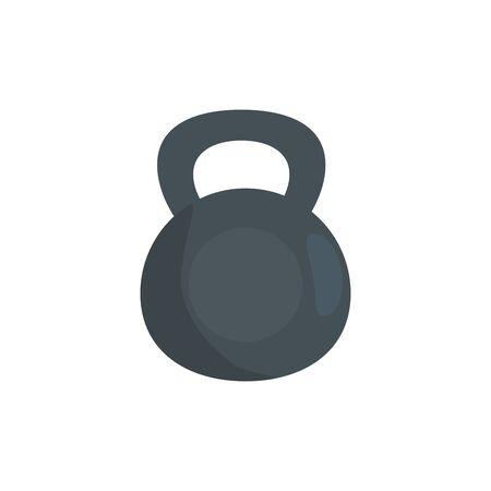 dumbbell equipment gym isolated icon vector illustration design Illustration