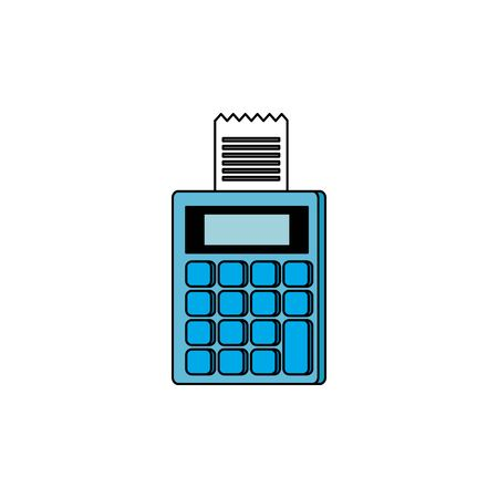 dataphone with voucher isolated icon vector illustration design Ilustracja