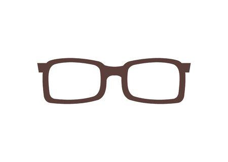 eyeglasses optical accessory isolated icon vector illustration design Ilustracja