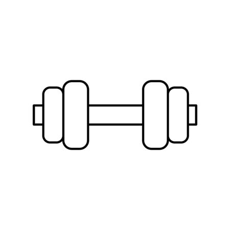 Weight icon design, Healthy lifestyle gym fitness bodybuilding bodycare activity exercise and diet theme Vector illustration Illustration